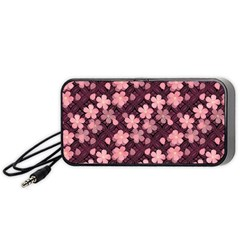Cherry Blossoms Japanese Style Pink Portable Speaker