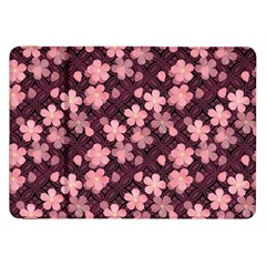 Cherry Blossoms Japanese Style Pink Samsung Galaxy Tab 8 9  P7300 Flip Case