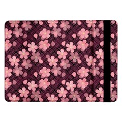 Cherry Blossoms Japanese Style Pink Samsung Galaxy Tab Pro 12 2  Flip Case