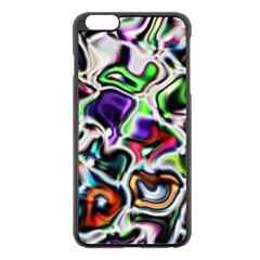 Background Texture Pattern Apple Iphone 6 Plus/6s Plus Black Enamel Case