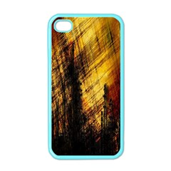 Refinery Oil Refinery Grunge Bloody Apple Iphone 4 Case (color)