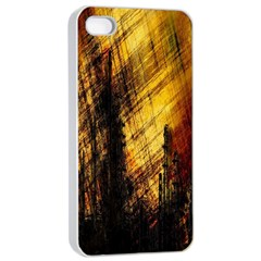 Refinery Oil Refinery Grunge Bloody Apple Iphone 4/4s Seamless Case (white)