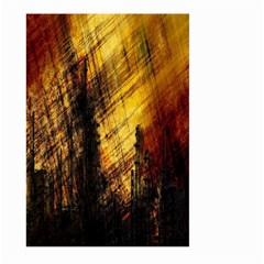 Refinery Oil Refinery Grunge Bloody Large Garden Flag (two Sides)