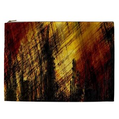 Refinery Oil Refinery Grunge Bloody Cosmetic Bag (xxl)