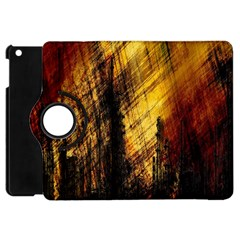 Refinery Oil Refinery Grunge Bloody Apple Ipad Mini Flip 360 Case
