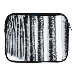 Row Trees Nature Birch Apple Ipad 2/3/4 Zipper Cases