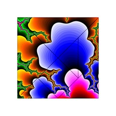 Fractal Background Pattern Color Acrylic Tangram Puzzle (4  X 4 )