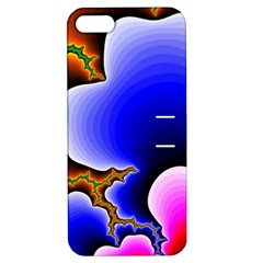Fractal Background Pattern Color Apple Iphone 5 Hardshell Case With Stand