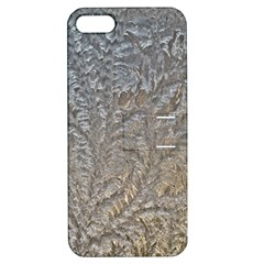 Eiskristalle Hardest Frozen Texture Apple Iphone 5 Hardshell Case With Stand
