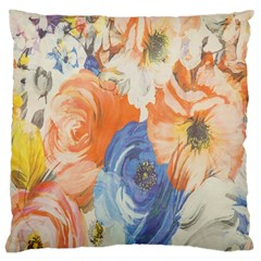 Texture Fabric Textile Detail Large Cushion Case (two Sides)