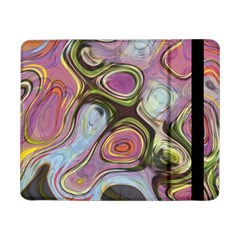 Retro Background Colorful Hippie Samsung Galaxy Tab Pro 8 4  Flip Case