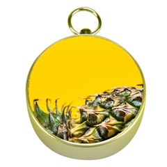 Pineapple Raw Sweet Tropical Food Gold Compasses