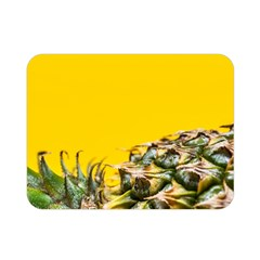 Pineapple Raw Sweet Tropical Food Double Sided Flano Blanket (mini)