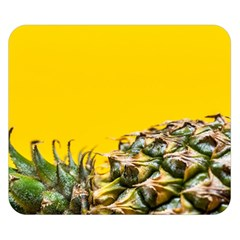 Pineapple Raw Sweet Tropical Food Double Sided Flano Blanket (small)