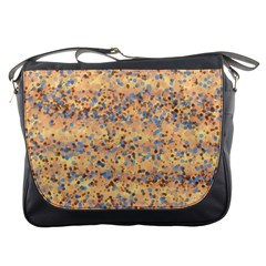 Background Abstract Art Messenger Bags