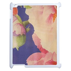 Fabric Textile Abstract Pattern Apple Ipad 2 Case (white)