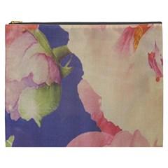 Fabric Textile Abstract Pattern Cosmetic Bag (xxxl)