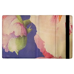 Fabric Textile Abstract Pattern Apple Ipad 2 Flip Case