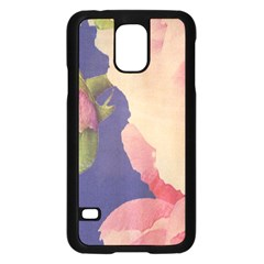 Fabric Textile Abstract Pattern Samsung Galaxy S5 Case (black)