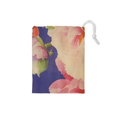 Fabric Textile Abstract Pattern Drawstring Pouches (small)