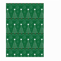 Christmas Tree Holiday Star Large Garden Flag (two Sides)