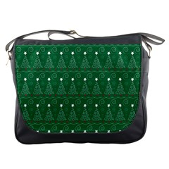 Christmas Tree Holiday Star Messenger Bags