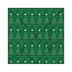 Christmas Tree Holiday Star Acrylic Tangram Puzzle (6  X 6 )
