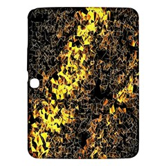 The Background Wallpaper Gold Samsung Galaxy Tab 3 (10 1 ) P5200 Hardshell Case