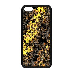 The Background Wallpaper Gold Apple Iphone 5c Seamless Case (black)