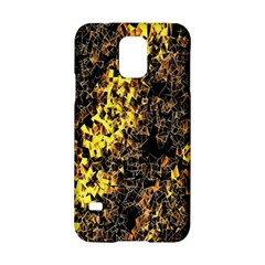 The Background Wallpaper Gold Samsung Galaxy S5 Hardshell Case