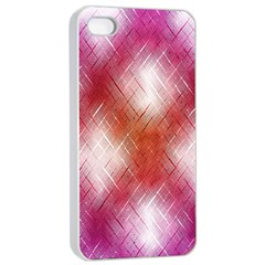 Background Texture Pattern 3d Apple Iphone 4/4s Seamless Case (white)