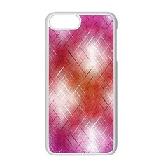 Background Texture Pattern 3d Apple Iphone 8 Plus Seamless Case (white)