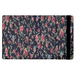 Pattern Flowers Pattern Flowers Apple Ipad 2 Flip Case