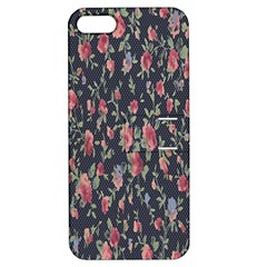 Pattern Flowers Pattern Flowers Apple Iphone 5 Hardshell Case With Stand