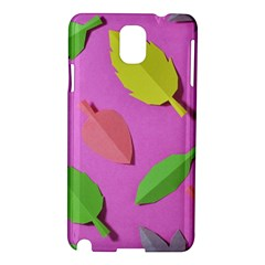 Leaves Autumn Nature Trees Samsung Galaxy Note 3 N9005 Hardshell Case