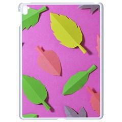 Leaves Autumn Nature Trees Apple Ipad Pro 9 7   White Seamless Case