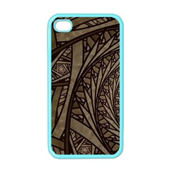 Abstract Pattern Graphics Apple Iphone 4 Case (color)