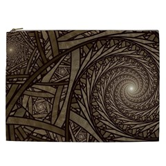 Abstract Pattern Graphics Cosmetic Bag (xxl)