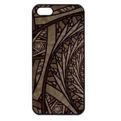Abstract Pattern Graphics Apple Iphone 5 Seamless Case (black)