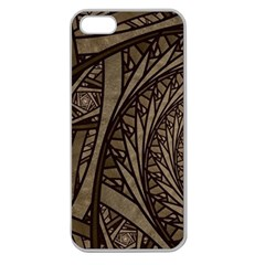 Abstract Pattern Graphics Apple Seamless Iphone 5 Case (clear)