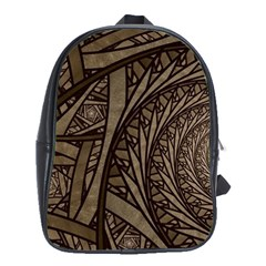 Abstract Pattern Graphics School Bag (xl)