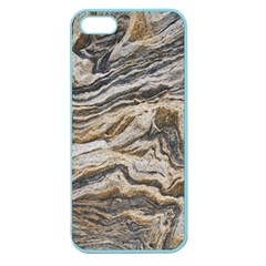 Texture Marble Abstract Pattern Apple Seamless Iphone 5 Case (color)