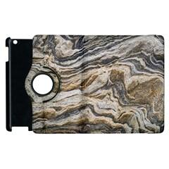 Texture Marble Abstract Pattern Apple Ipad 2 Flip 360 Case