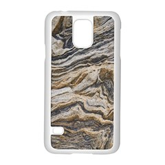 Texture Marble Abstract Pattern Samsung Galaxy S5 Case (white)