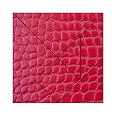 Textile Texture Spotted Fabric Acrylic Tangram Puzzle (6  X 6 )