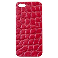Textile Texture Spotted Fabric Apple Iphone 5 Hardshell Case
