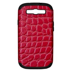 Textile Texture Spotted Fabric Samsung Galaxy S Iii Hardshell Case (pc+silicone)