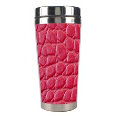 Textile Texture Spotted Fabric Stainless Steel Travel Tumblers