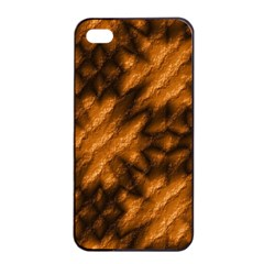 Background Texture Pattern Apple Iphone 4/4s Seamless Case (black)