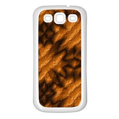 Background Texture Pattern Samsung Galaxy S3 Back Case (white)